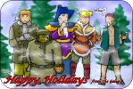 Happy Holidays by Elyandarin