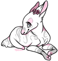 crayon chibi//pinkpoodle543 by the-tattoo