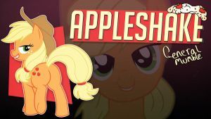 Appleshake song art by Poowis