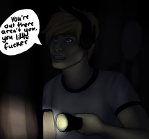 Pewdie and Slender by sirrowdi