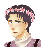 Flower Crown Levi by Athynis