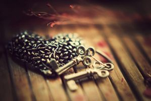 Keys to my heart by BlueColoursOfNature