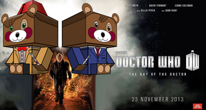 Cubeecraft Doctor Who Teddy in Day of the Doctor by SKGaleana