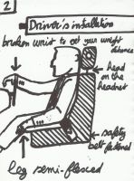 how to sit in a car by bordeauxman