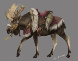 Moose Mount by lunatteo
