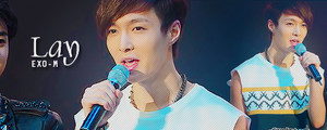 Exo-M Lay banner by KpopGurl