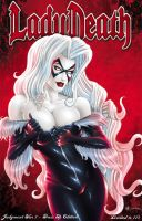 ABQ Comic Con Lady Death Exclusive 2 by Artassassin