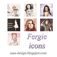 Fergie icons by sasa-92