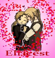 Elricest - Fluffy love by MangaX3me