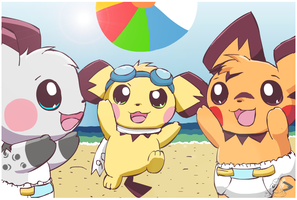 Pichu Days of Summer by pichu90