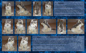 .: Webkinz Signature Wolf :. by Dunkin-Prime