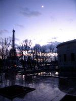Evening on Paris by Silberius