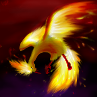 Moltres Burns Bright by kuroseishin