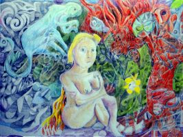 Monsters That Feed Upon The Brain by chesya