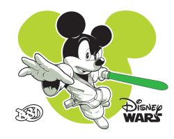 Jedi Mickey by benscott81