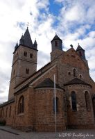 The Church of Wipperfuerth by Backbag