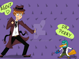 Agent D Vs. Dr. Perry by Niky-Chan