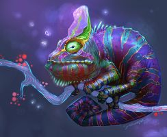 Cosmic Chameleon by Grainicus