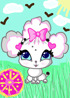 Elodie's Pet Poodle - Adopt/Com for EvilRaspberry by VivaFariy