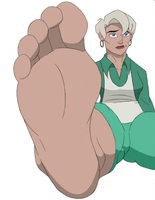 Aunt May Colored by 12Beast1212