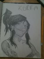 Korra's Face by queenbeltloop