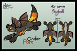 Faybell Adoptable - Cinder Flare - OPEN by EiraFantasy