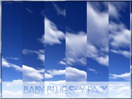 Baby - Blue Sky Pack by arca-stock