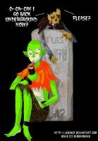 Hangin' At the Cemetery by JadineR