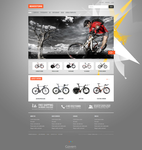 Joomla template - Bike Store by DarkStaLkeRR