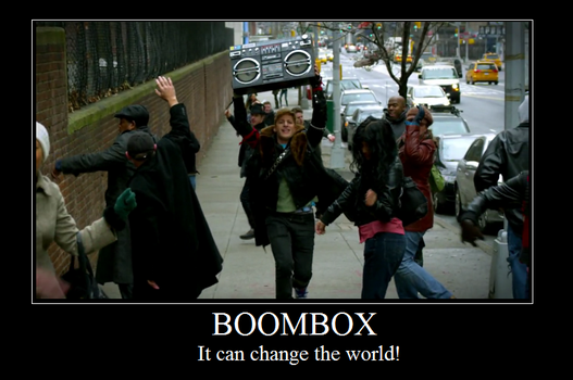 Boombox by HellDice