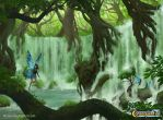 Emerald Falls by Natalie-Becker