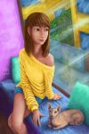 Window Girl by montoy