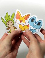 Poke stickers by heikala