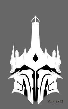 Sauron Helmet sketch by vortex92