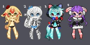 Adoptable - Batch 15[SET PRICE][OPEN] by AskTheMaskedGuy