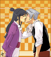 MayaEdgeworth Love by Tsuka-sama