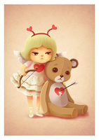 Cupid by boOnsai