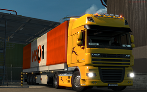 [ETS2] Morning start! by RomsnMan