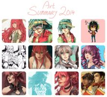 Art Summary 2014 by crys-art