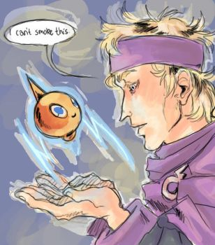 morty and rotom by pokiesman