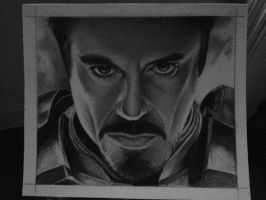 Robert Downey Jr - Iron Man (photo) by HarryMichael