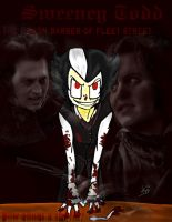Sweeney todd the demon baber by punk-LUV