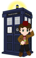 11th Doctor Matt Smith by Soseiru