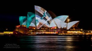 Lighting of the Sails by FireflyPhotosAust