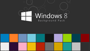 Windows 8 Background Pack by gifteddeviant