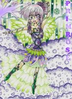 Enchanted Nature: OC Primrose by MikiArtSpadeMagic