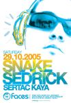 Snake Sedric At Faces by can