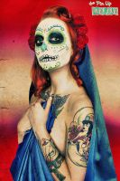 Virgen de la Muerta IV by Ghouldaddy