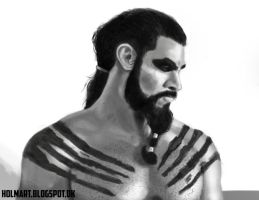 Drogo Study by TheSilentDane