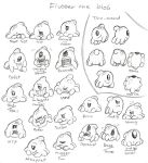 Flubber The Blob Studies by Mickeymonster